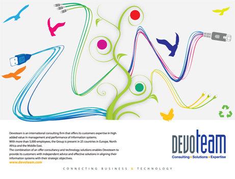 Devo Team Magazine Ads