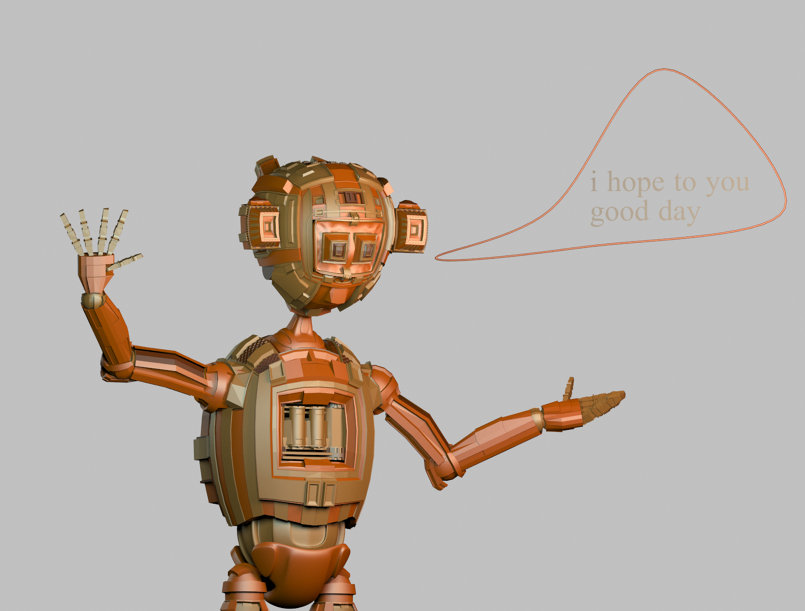 ranout new robot style