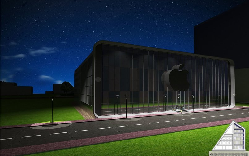 project of Apple Campus