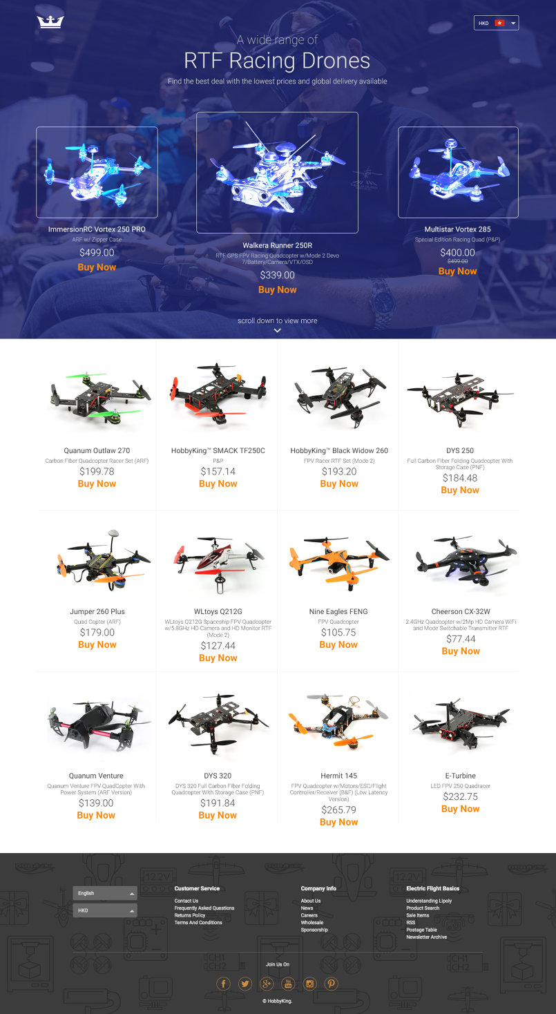 Best Rc Drones in the market from Hobby King