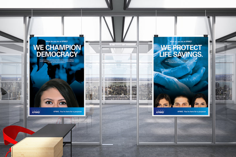 KPMG Internal Campaign Posters