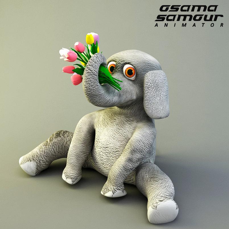 "Vielor ""the happy elephant"""