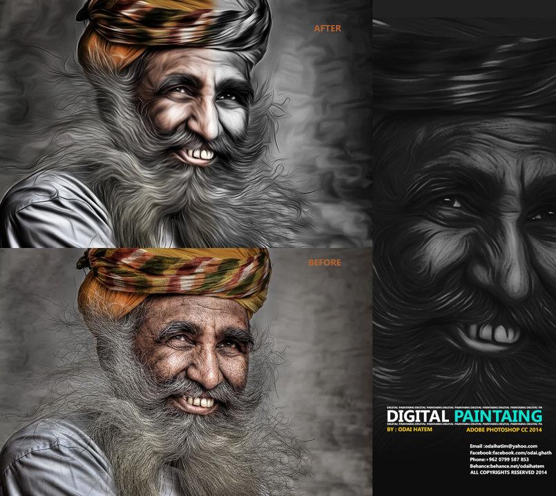 2D digital Painting