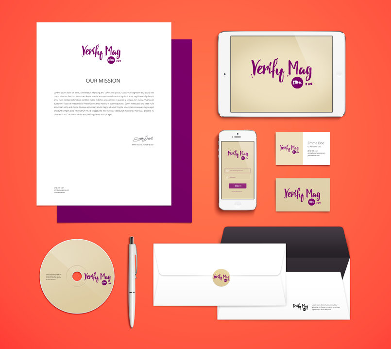 Branding - Verify Magazine