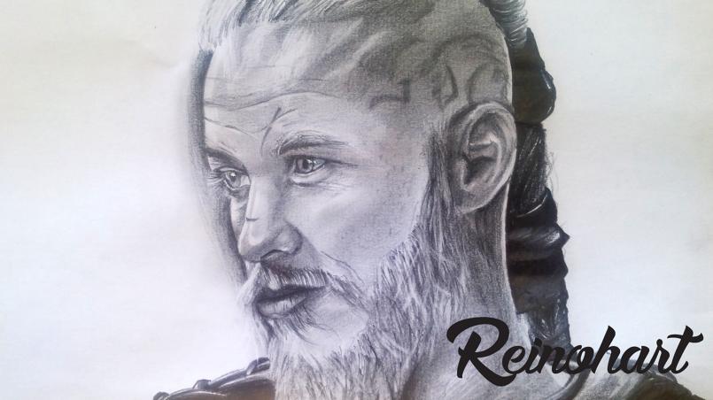 Portrait: Ragnar from Vikings