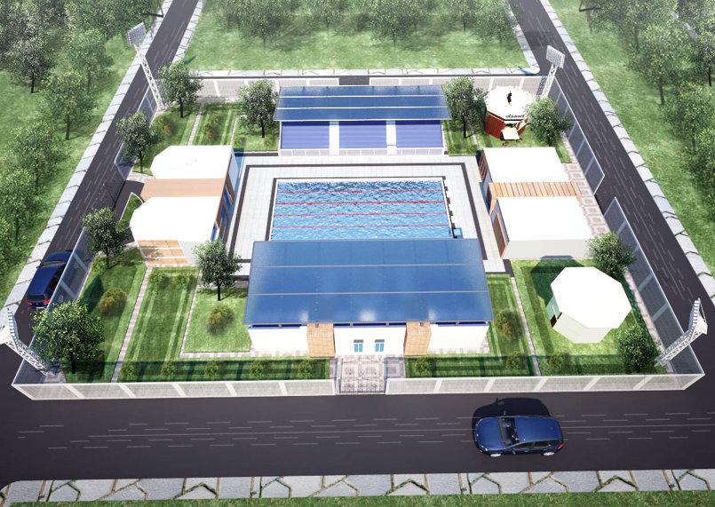 حمام سباحة اوليمبي