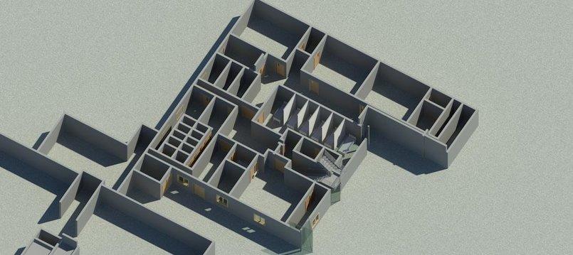 مشروع مشفى الامل اجزاء من غرف العمليات والتصوير