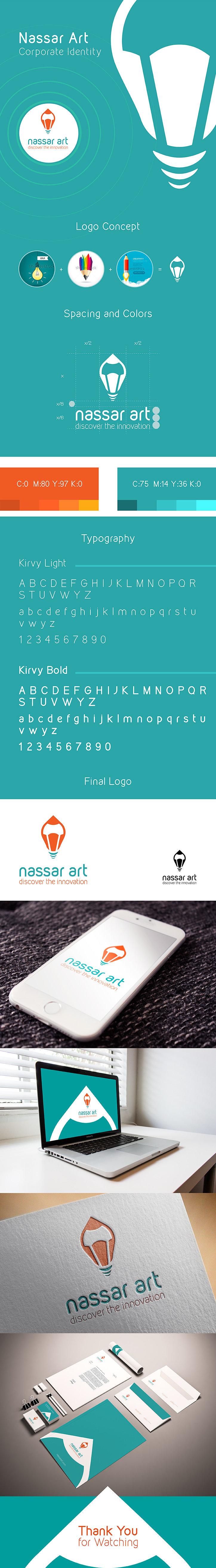 Nassar Art Corporate Identity