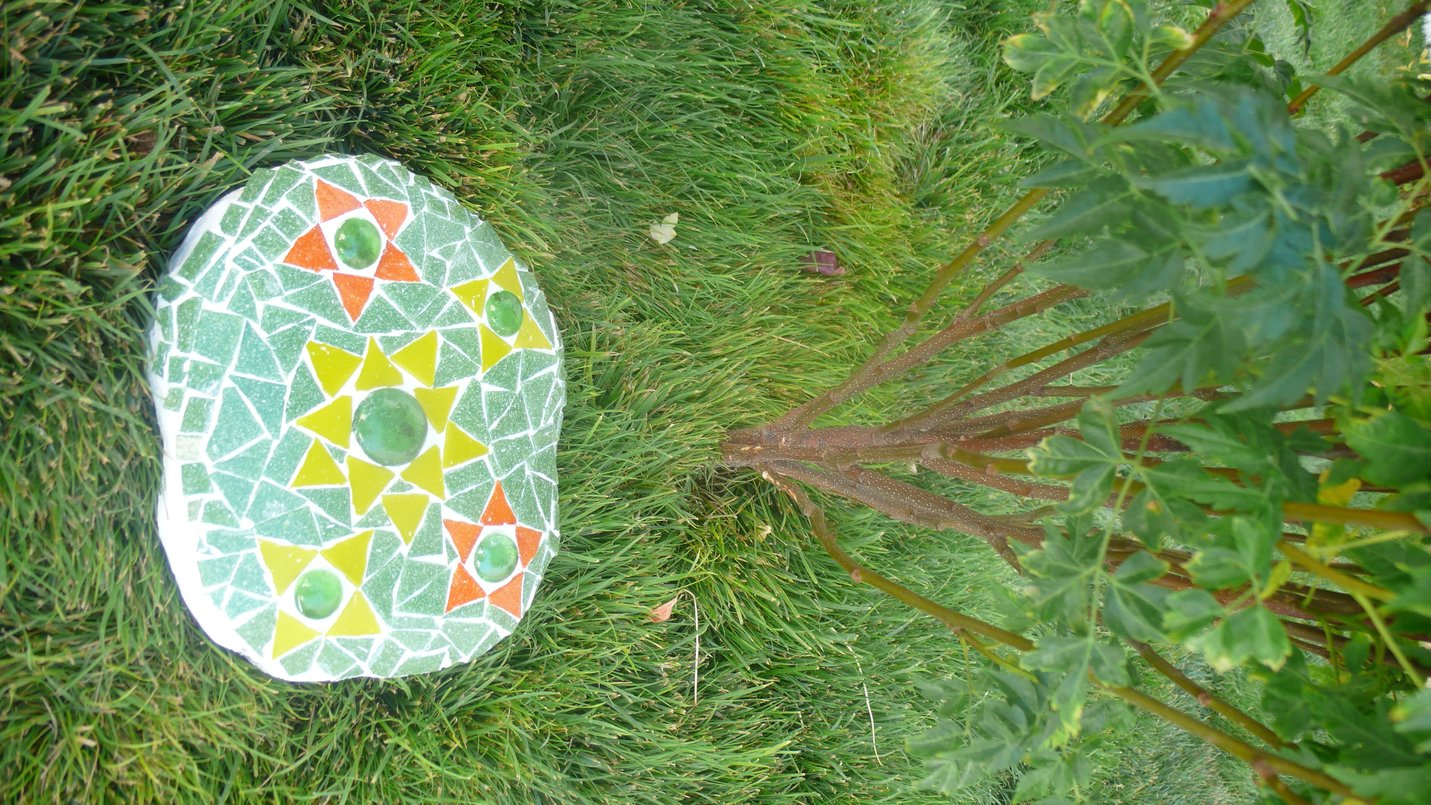 Most Recent Work - Garden Mosaic