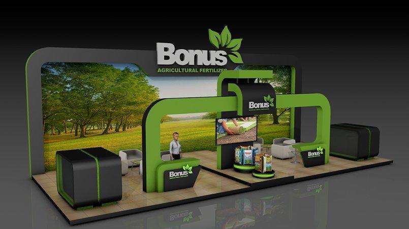 Booth Design - Bonus