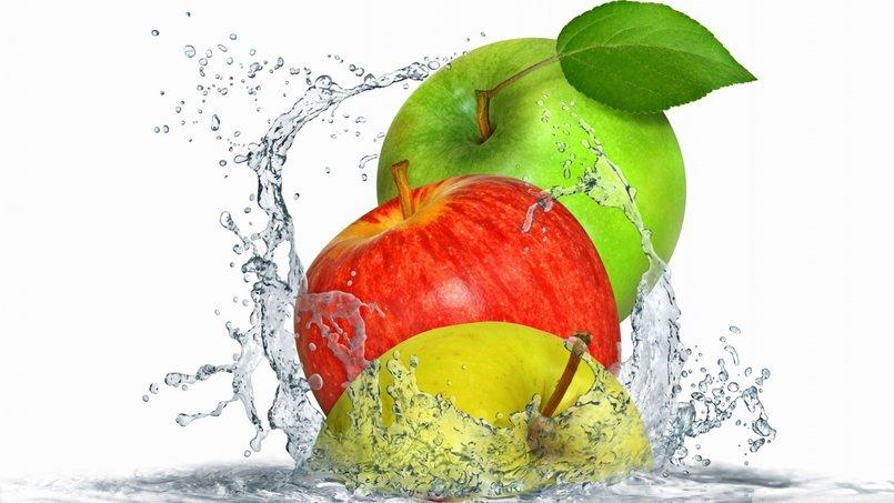 تفاح طبيعة