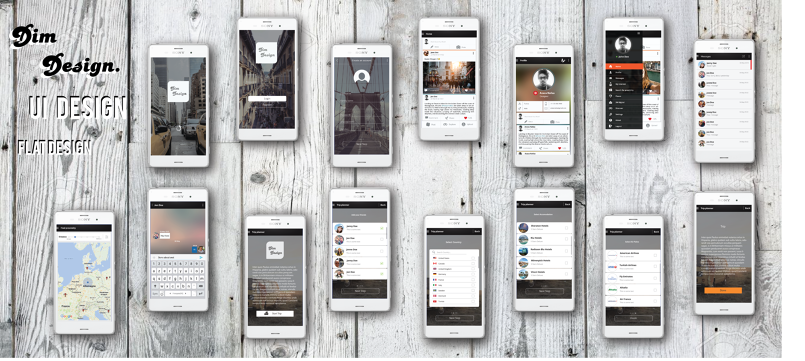 Ui Design App android