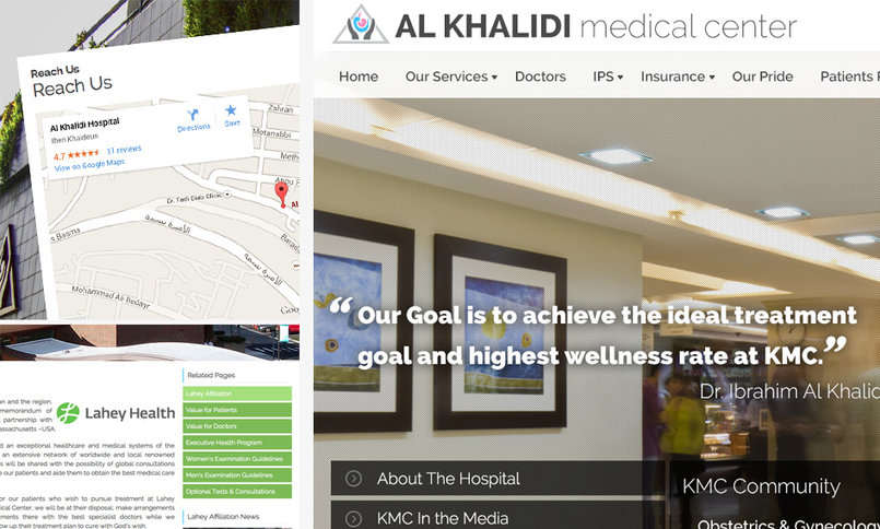 Al Khaldi Medical Center Website