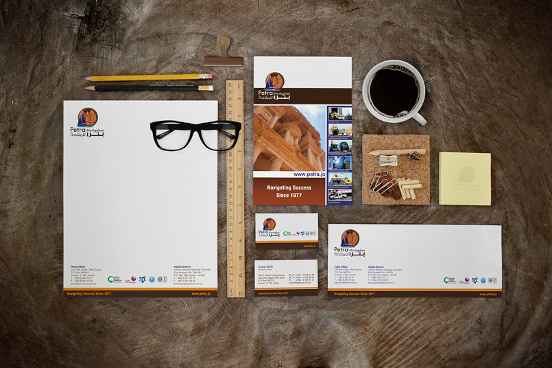 Petra Navigation & Int'l Shipping Corporate Identity Design