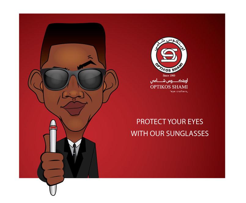 Optikos Shami social media