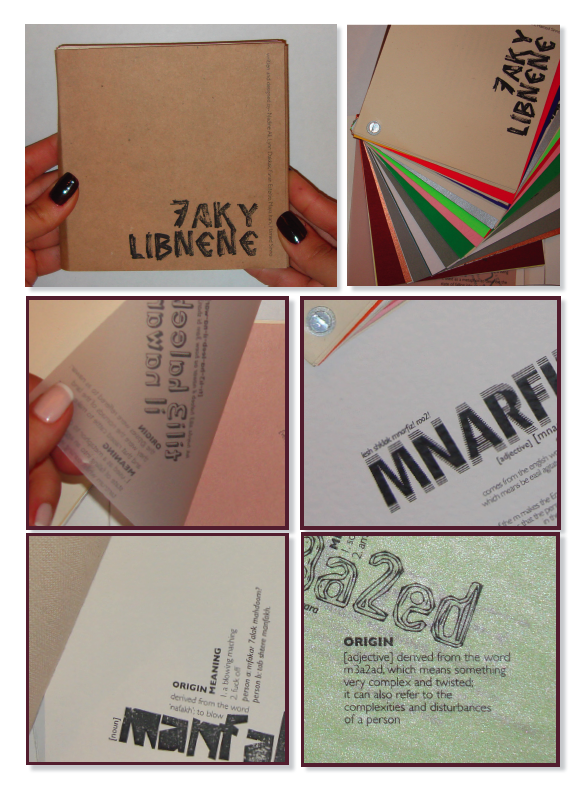 '7ake Libnene'  A pocket book on today's Lebanese slang