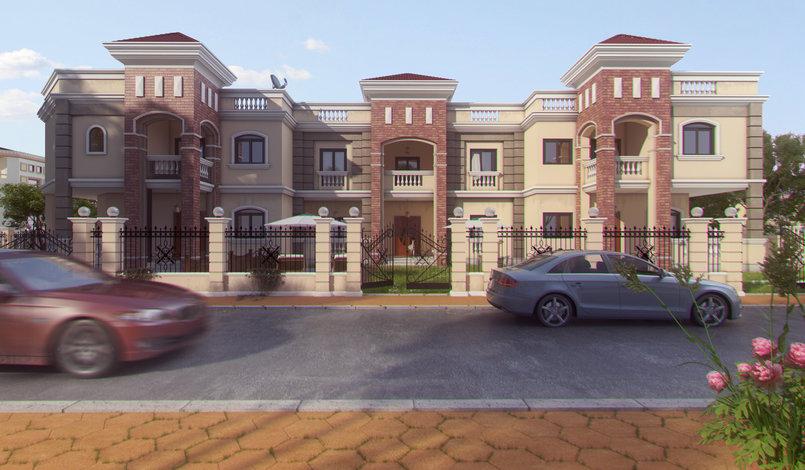 3d villas in sherook egypt