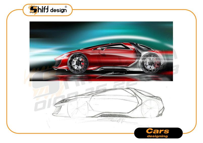 Cars designing
