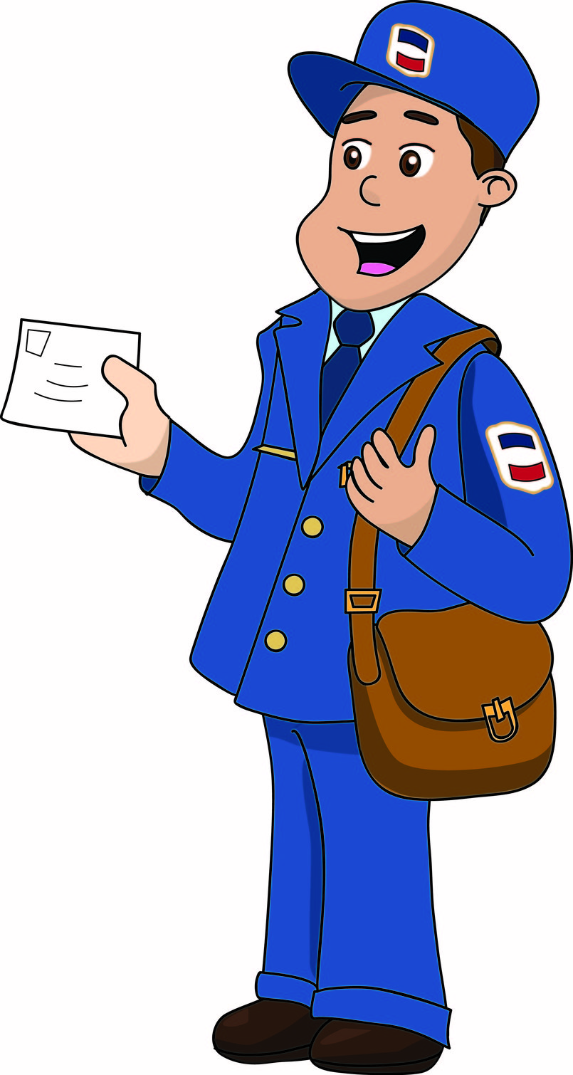 Postman - Vectors - Illustrator