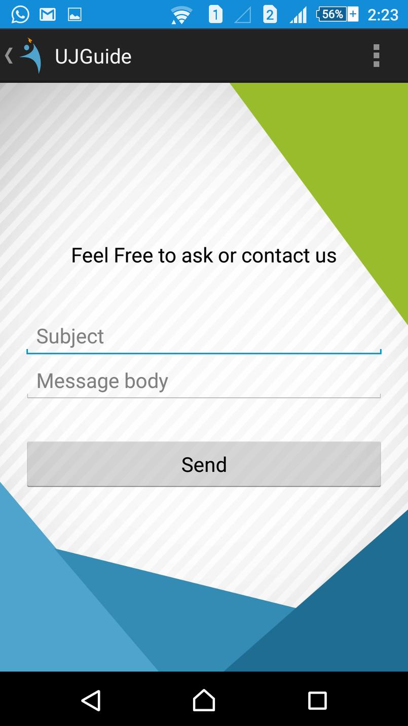 تصميم لتطبيق على الهاتف الذكي