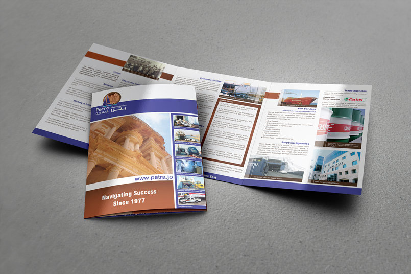 Petra Navigation & Int'l Shipping TriFold Brochure