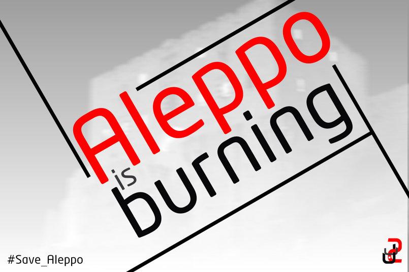 Aleppo is Burning wallpaper