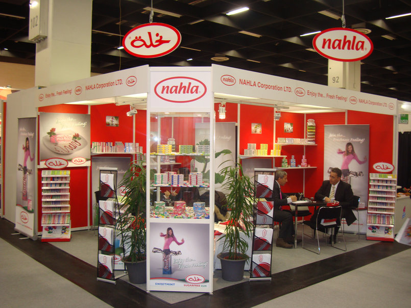 Nahla Booth ISM