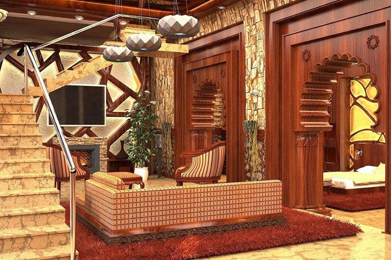 منزل جبلي على النمط الاسلامي المحدث