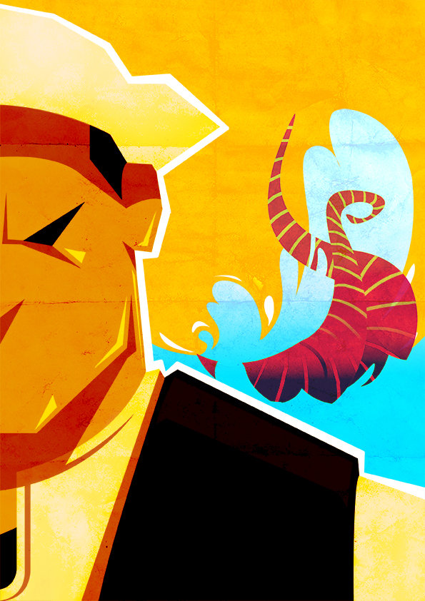 2 - Comic poster