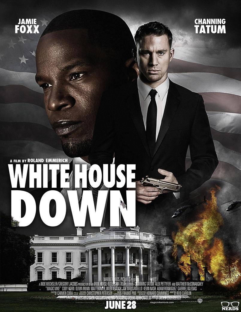 White House Down - Alternative Movie Poster Art