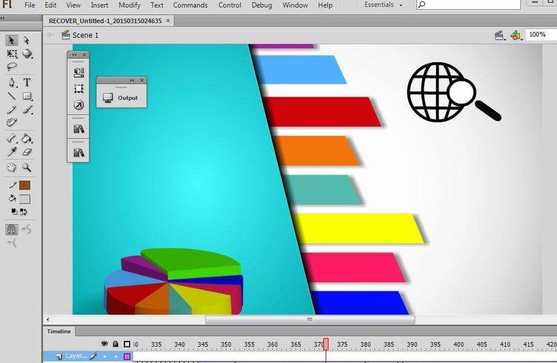 info graphic - flash