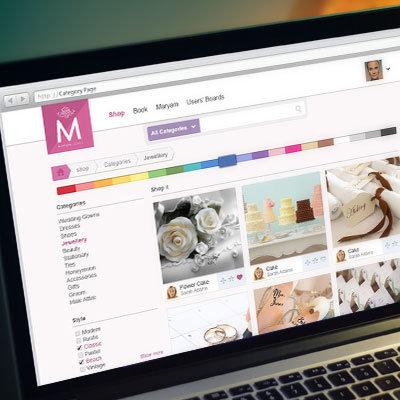 Mariam Loves - Web Design