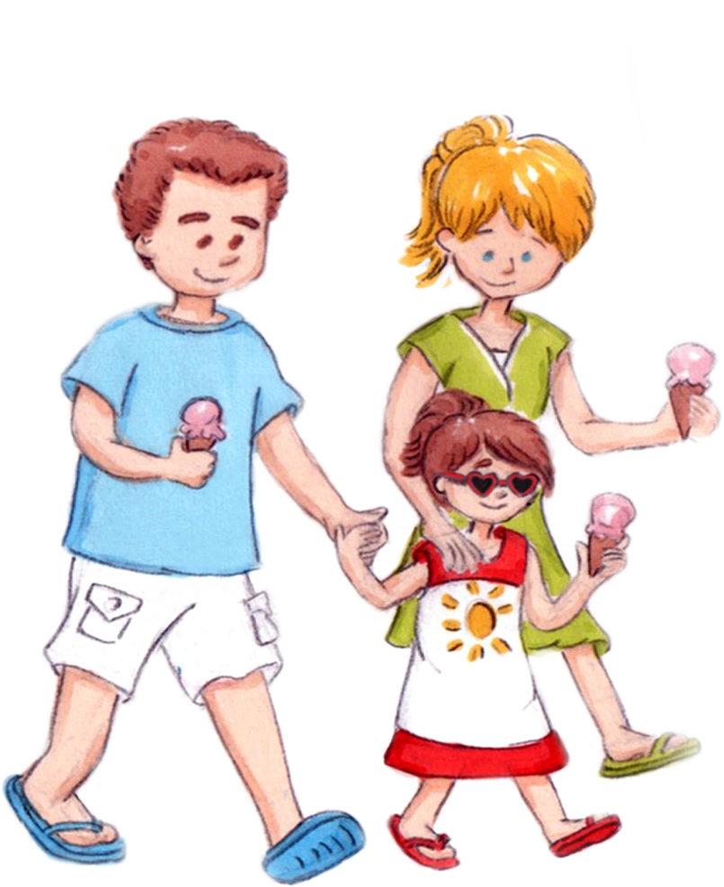 Ice Cream Day - Children's Books