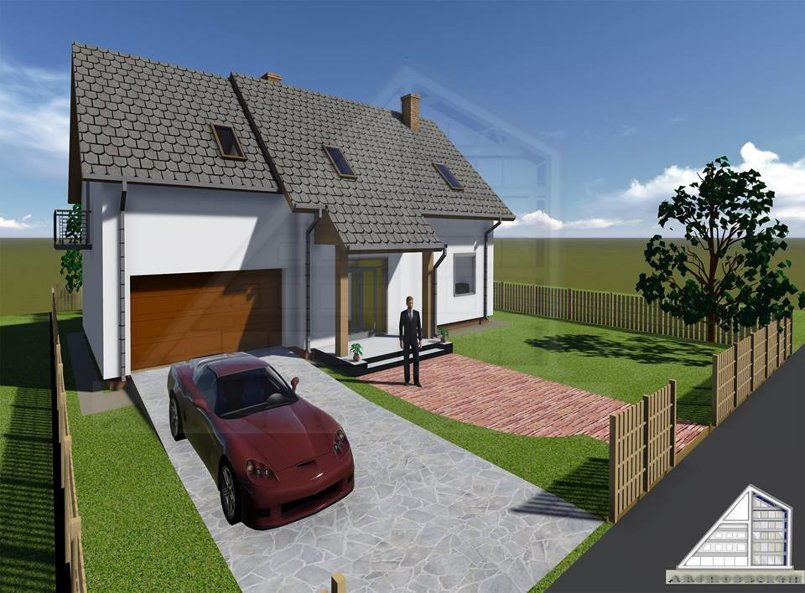 1 house