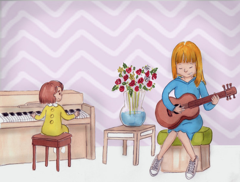 Music Time - Children's books