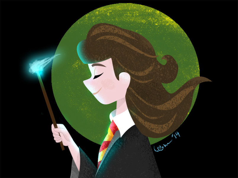 Harry Potter Fan Art: Hermione