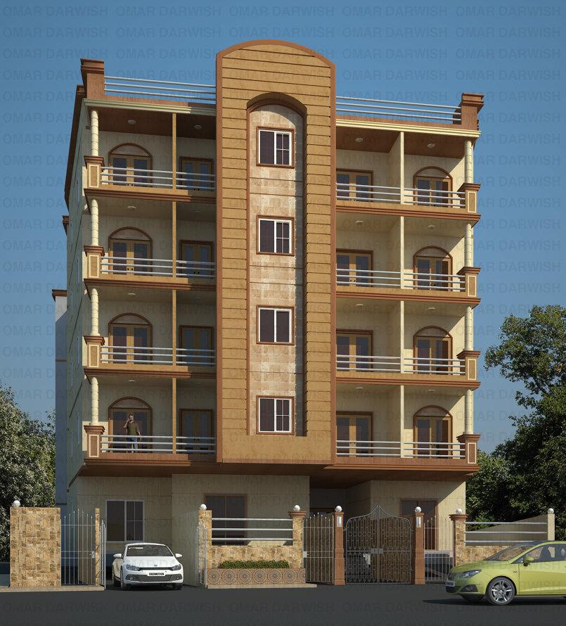منظور لعمارة سكنية