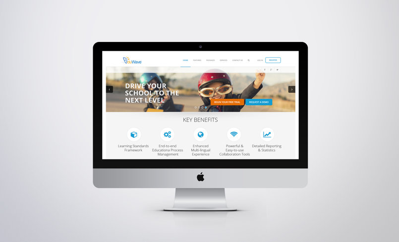Eduwave portal Website