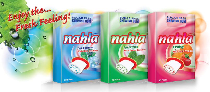 1 - Nahla SugarFree Gum