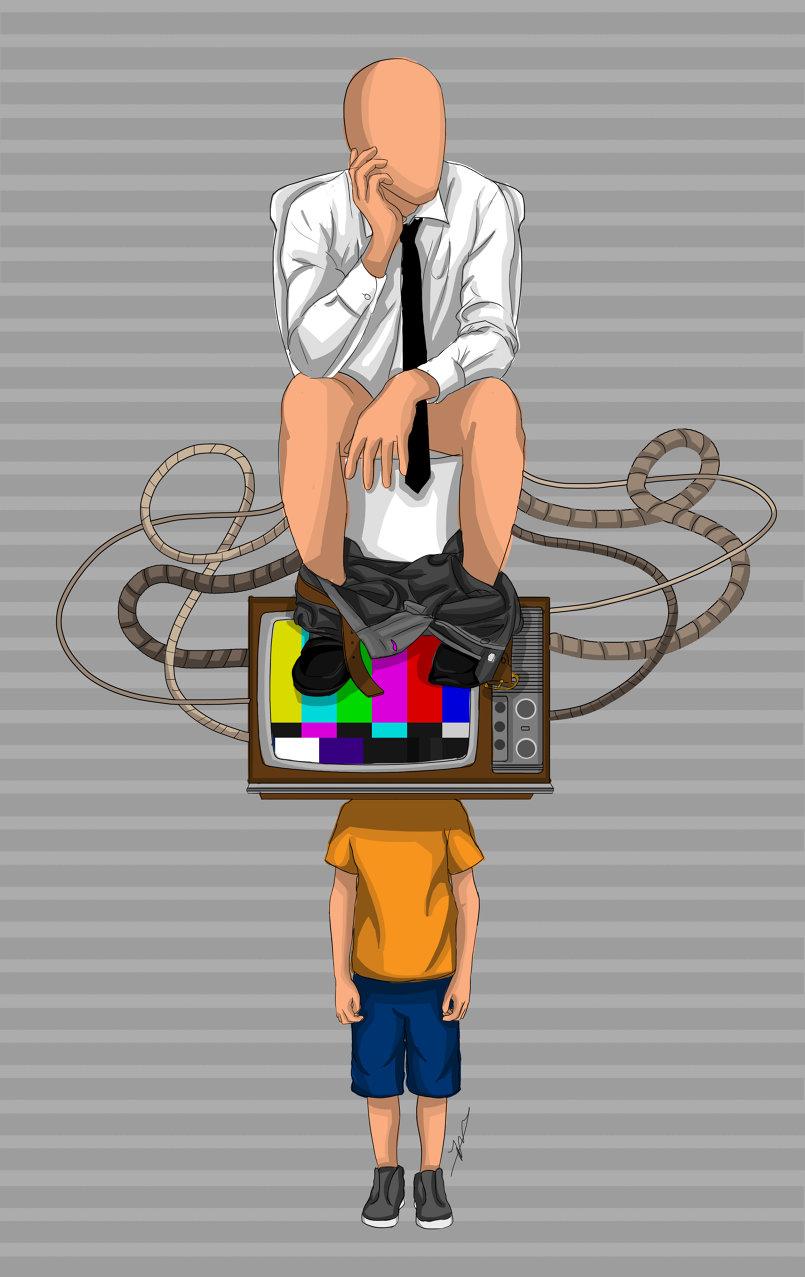 poster design and digital art