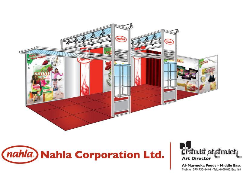 Nhala Gum Gulf Food Booth
