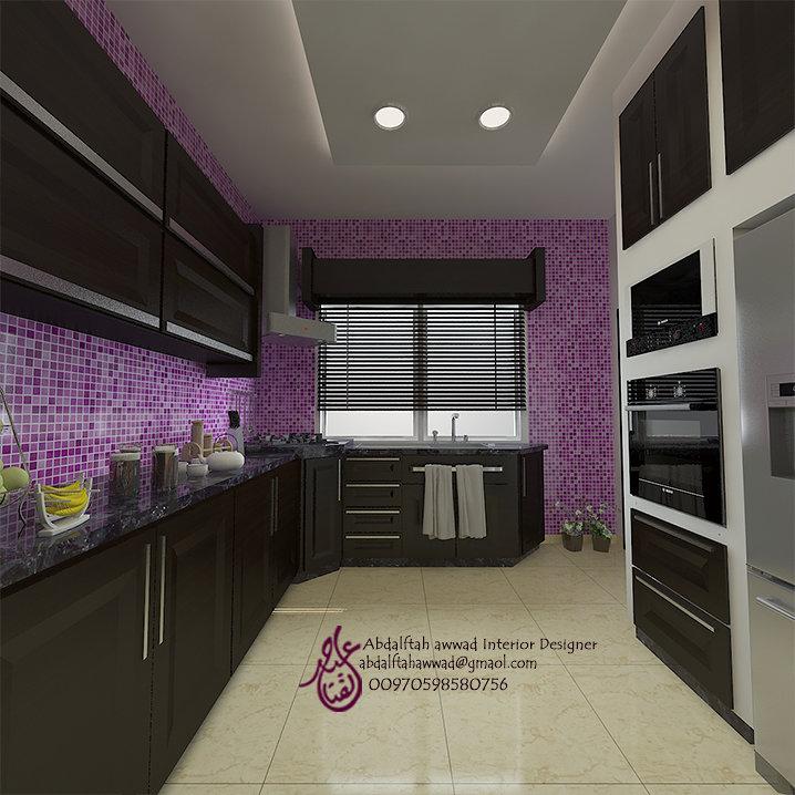 Interior Design for the house of Mr. Majdi Daoud Amman - Jordan