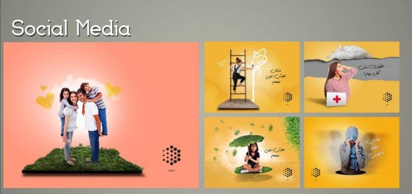 تصميمات social media