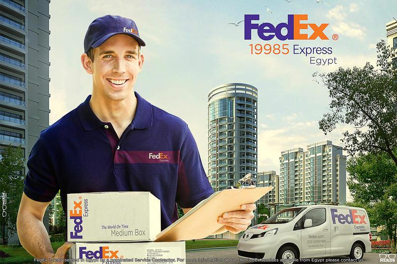 FedEx print Ad