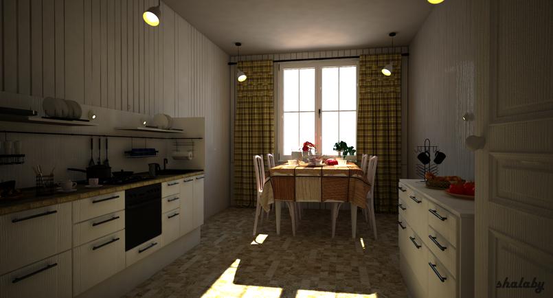 مطبخ كلاسيك