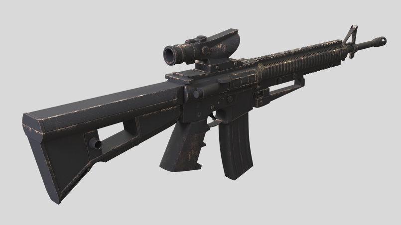 Modeling M16 refile