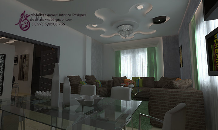 Interior Design For The House Of Mr. Majdi Daoud Amman   Jordan