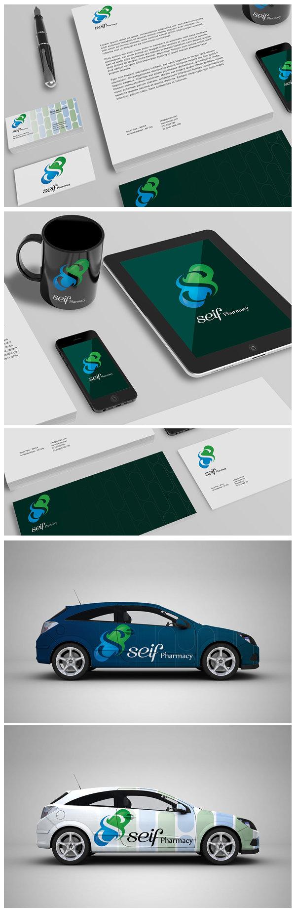 Logo : Seif Pharmacy