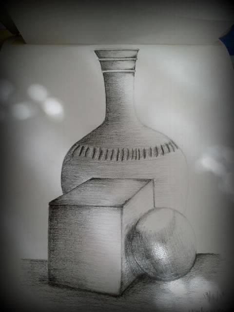 رسوماتي من كلية الهندسة المعمارية في دمشق سوريا