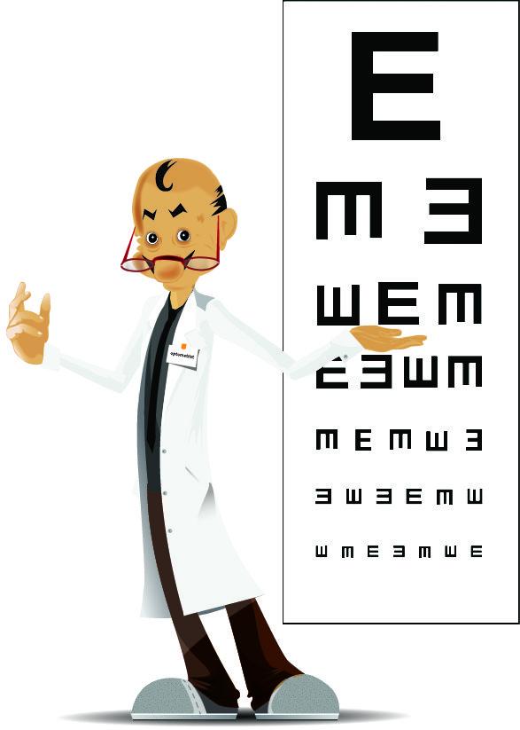 Optometrist Character